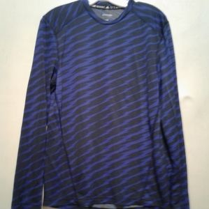 Adidas long sleeve striped shirt